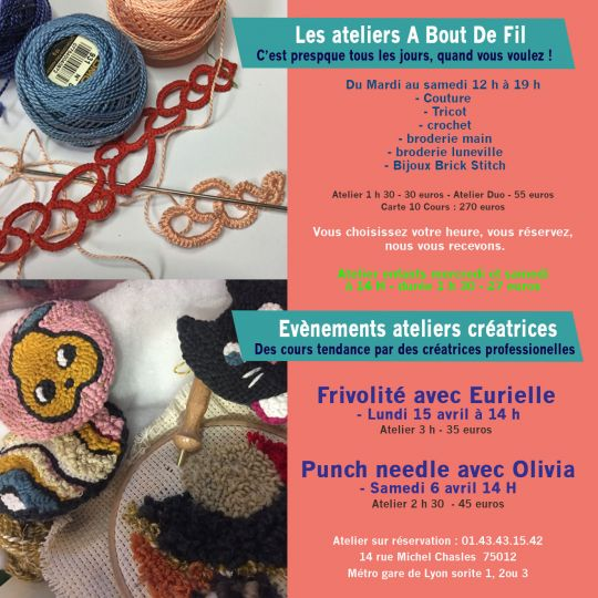 Atelier couture tricot