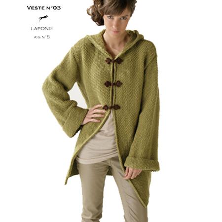 Tuto Gilet Long Tricot Et Crochet A Bout De Fil Mercerie