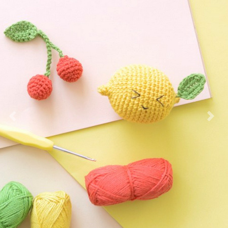 Kit fruit au crochet