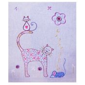 Kit broderie chat 3