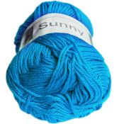 Coton sunny turquoise