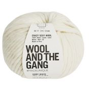 Crasy sexy wool blanc