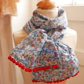 Foulard liberty flower tops