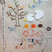 kit broderie prunch needle animaux