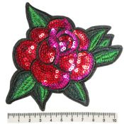 Thermocollant rose paillettes