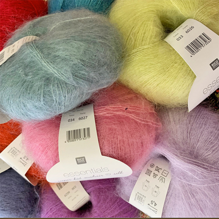 Essentials super kid mohair et silk