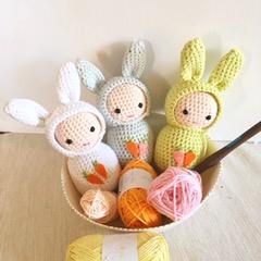 Amigurumi Lapin - Ael Créations | Blog sur le crochet | 240x240